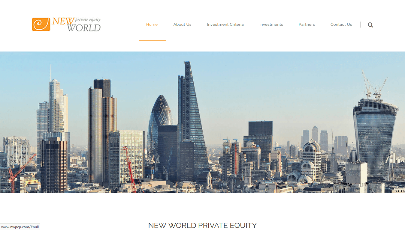 New World Private Equity